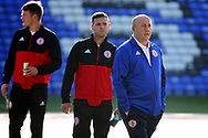 Accrington Stanley Manager John Coleman on the pitch before the EFL Sky Bet League 1 match between Peterborough United and Accrington Stanley at London Road, Peterborough, England on 20 October 2018.