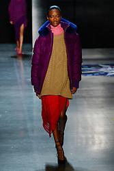 Prabal Gurung show, Runway, Fall Winter 2018, New York Fashion Week Model on the catwalk- Ashely Graham - Gigi Hadid and Bella Hadid-Romee Strijd. 11 Feb 2018 Pictured: Models. Photo credit: Newspictures/ MEGA TheMegaAgency.com +1 888 505 6342