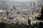 Griekenland, Athene, 5-7-2008Uitzicht op de stad. LandschapFoto: Flip Franssen