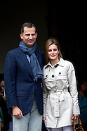 Prince Felipe and Princess Letizia, the new King Felipe and Queen Letizia