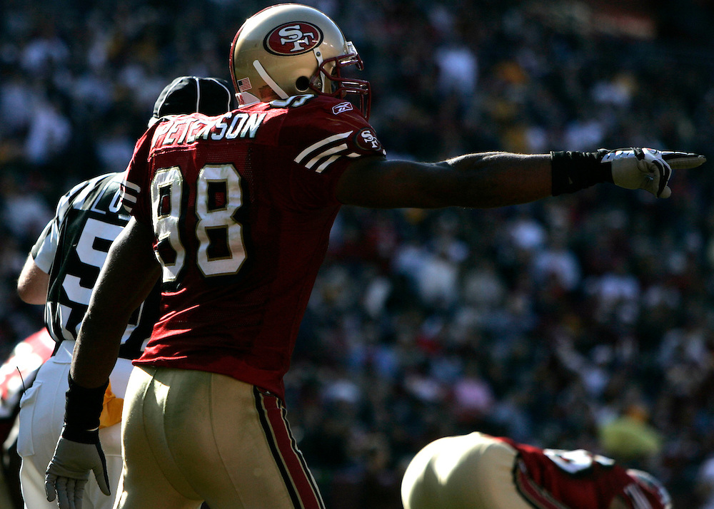 Jay Westcott/Examiner     SP   Oct. 23, 2005 - Washington Redskins vs. San Francisco 49ers. -