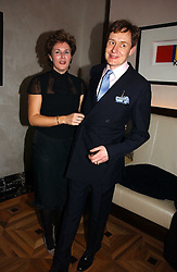 NICK & ALEX FOULKES at a party to celebrate the publication of 'Dancing into Waterloo' by Nick Foulkes held at The Westbury Hotel, Conduit Street, London on 14th December 2006.<br /><br />NON EXCLUSIVE - WORLD RIGHTS