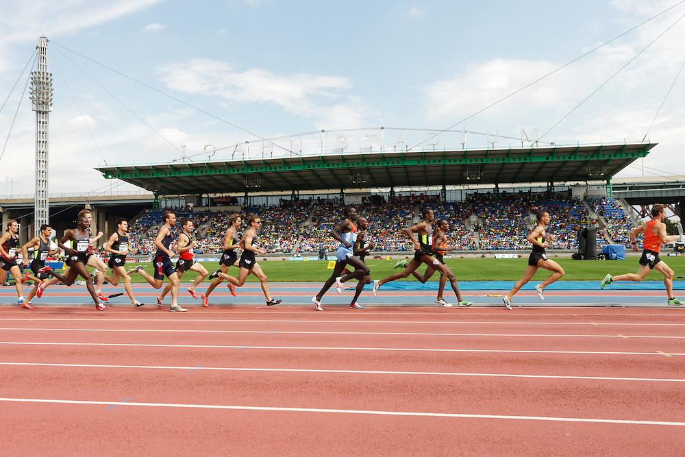 Samsung Diamond League adidas Grand Prix track & field; Men's 1500 meters