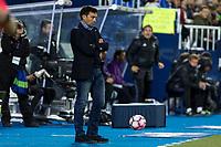 Asier Garitano of Club Deportivo Leganes during the match of  La Liga between Club Deportivo Leganes and Real Madrid at Butarque Stadium  in Leganes, Spain. April 05, 2017. (ALTERPHOTOS / Rodrigo Jimenez)