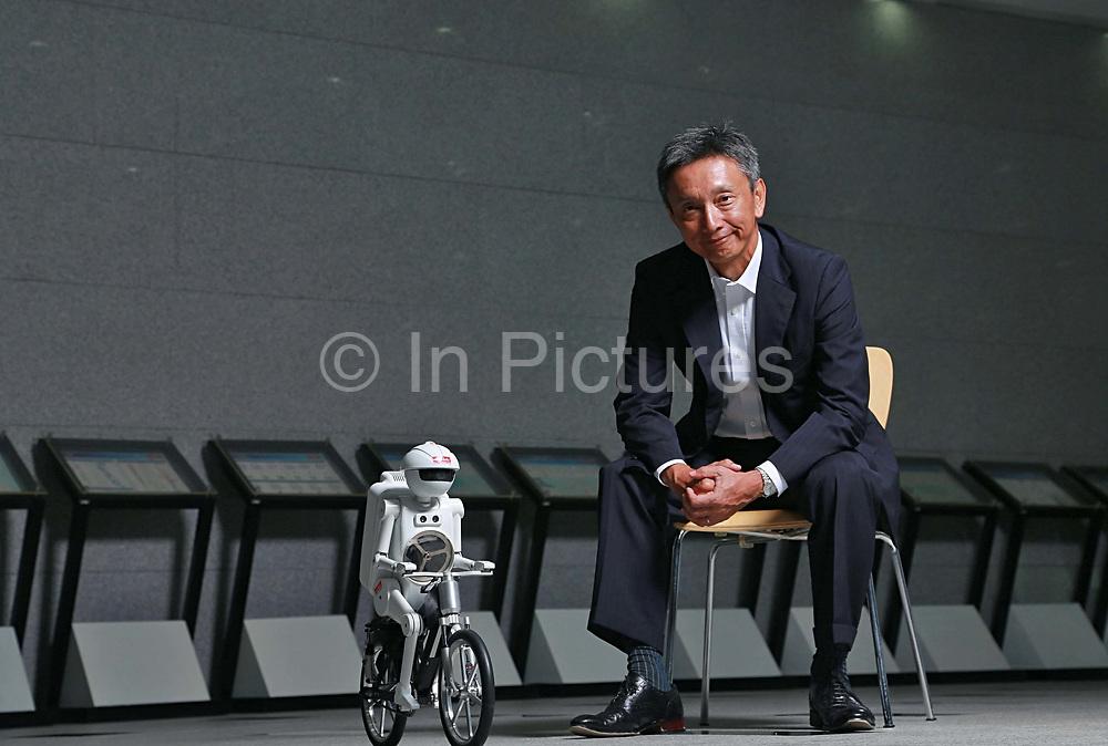 Hideki Maruyama, President of Murata China, photographed at the company's headquarters in Shanghai, China on 20 August 2012.