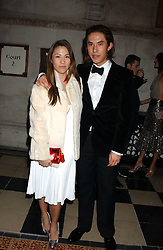EDWARD TANG and VICTORIATANG children of David Tang at Andy & Patti Wong's annual Chinese New Year party, this year celebrating the year of the dog held at The Royal Courts of Justice, The Strand, London WC2 on 28th January 2006.<br /> <br /> NON EXCLUSIVE - WORLD RIGHTS