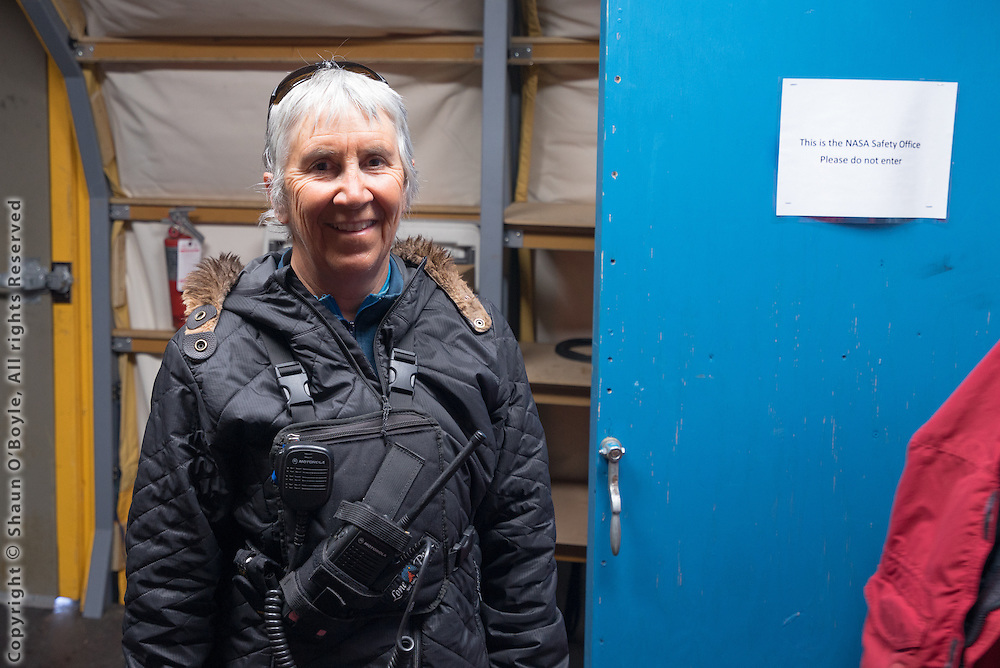 Anne Dal Vera, LDB field camp coordinator and member of the 1992/93 first women's expedition to ski to the South Pole.