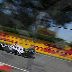 Brazilian Rubens Barichello drives the AT&T Williams FW33 during practice for the 2011 Formula 1 Canadian Grand Prix, Montral, QC.