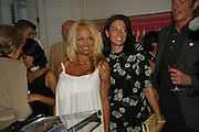 Pamela Anderson and Mary McCArtney. PETA's Humanitarian Awards, Stella McCartney, Bruton Street, London, W1. 28 June 2006. ONE TIME USE ONLY - DO NOT ARCHIVE  © Copyright Photograph by Dafydd Jones 66 Stockwell Park Rd. London SW9 0DA Tel 020 7733 0108 www.dafjones.com