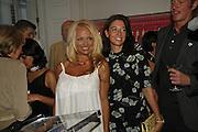 Pamela Anderson and Mary McCArtney. PETA's Humanitarian Awards, Stella McCartney, Bruton Street, London, W1. 28 June 2006. ONE TIME USE ONLY - DO NOT ARCHIVE  © Copyright Photograph by Dafydd Jones 66 Stockwell Park Rd. London SW9 0DA Tel 020 7733 0108 www.dafjones.com