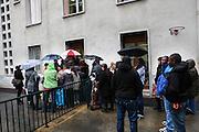 Centre d'accueil de demandeurs d'asile a Culoz, Ain.  Welcoming center for asylum seekers, in Culoz, Ain