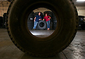 Niki Okuk and Richard Carter, co-founders of RCO Material Reuse