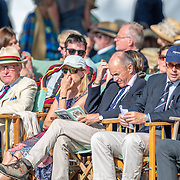 Spectators<br /> <br /> Racing at the Henley Royal Regatta on The Thames river, Henley on Thames, England. Friday 5 July 2019. © Copyright photo Steve McArthur / www.photosport.nz