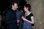 Alistair McGowan; Connie Fisher, A little Night Music press night. Garrick Theatre and afterwards at Café in The Crypt, St Martin-in-the-Field. London. 7 April 2009