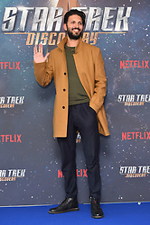 Shazad Latif pictured at a Star Trek: Discovery fan screening, at Milbank Tower in London. PRESS ASSOCIATION Photo. Picture date: Sunday November 5th, 2017. Photo credit should read: Matt Crossick/PA Wire.