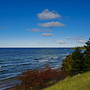 """Lake Superior Near Eagle Harbor""<br />