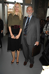 CLAUDIA SCHIFFER and COLIN MCDOWELL at Fashion Fringe 2007 held at 1 The Piazza, Covent Garden, London on 20th September 2007.<br />