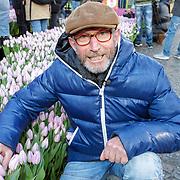 NLD/Amsterdam/20190119 - Nationale Tulpendag 2019, doop tulp Quinty Trustfull, Rob Verlinden
