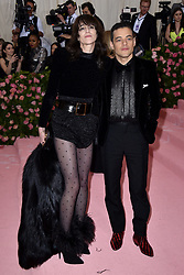 Rami Malek and Charlotte Gainsbourg attend The 2019 Met Gala Celebrating Camp: Notes On Fashion at The Metropolitan Museum of Art on May 06, 2019 in New York City. Photo by Lionel Hahn/ABACAPRESS.COM