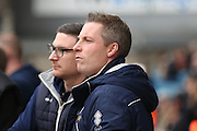 Millwall Manager Neil Harris looking onto the pitch during the The FA Cup 3rd round match between Millwall and Bournemouth at The Den, London, England on 7 January 2017. Photo by Matthew Redman.