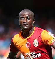 Emirates Cup Match between Galatasaray and Porto at Emirates Stadium in London England on August 03, 2013.<br /> Match scored: Galatasaray 1 - Porto 0<br /> Pictured: Dany Nounkeu of Galatasaray.