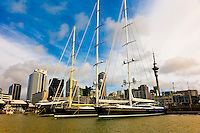 Viaduct Harbor, Auckland, New Zealand