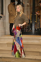 Annabelle Wallis seen coming out from the Ralph Lauren fashion show. 07 Feb 2019 Pictured: Annabelle Wallis. Photo credit: MEGA TheMegaAgency.com +1 888 505 6342