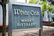 The White Oak Distillery, the city of Akashi, Hyogo prefecture, Japan.