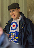 Football - 2016 / 2017 FA Cup - Third Round: Brentford vs. Eastleigh<br /> <br /> An Eastleigh fan ponders what will be today at Griffin Park.<br /> <br /> COLORSPORT/DANIEL BEARHAM