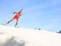 BILDET INNGÅR IKEK I FASTAVTALER. ALL NEDLASTING BLIR FAKTURERT.<br /> <br /> Skiskyting<br /> Foto: imago/Digitalsport<br /> NORWAY ONLY<br /> <br /> Hochfilzen 11.12.2015, Biathlonarena, Hochfilzen, AUT, BMW IBU Weltcup, Sprint, Damen, im Bild Hilde Fenne (NOR) // Hilde Fenne of Norway during Ladies Sprint of BMW IBU Biathlon World Cup at the Biathlonstadium in Hochfilzen, Austria on 2015/12/11.