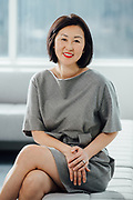 Portrait of Susan Namkung for the Womens Venture Capital Fund