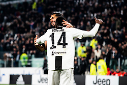 March 8, 2019 - Turin, Piedmont/Turin, Italy - Blaise Matuidi and Emre Can of Juventus celebrates during the Seria A Football Match: Juventus vs Udinese. Juventus won 4-1 at Allianz Stadium in Turin 8th march 2019 (Credit Image: © Alberto Gandolfo/Pacific Press via ZUMA Wire)