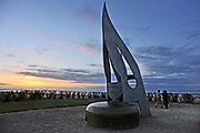Frankrijk, Ouistreham, 11-5-2013 Serie over de invasie door de geallieerden op de stranden van Normandie, 6 juni 1944. Bevrijding, herdenking, 2e, tweede wereldoorlog, oorlog, atlantik wall, dday, d-day, d day Foto: Flip Franssen