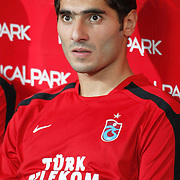 Trabzonspor's Halil ALTINTOP during their UEFA Champions League third qualifying round, second leg, soccer match Trabzonspor between Benfica at the Ataturk Olimpiyat Stadium at İstanbul Turkey on Wednesday, 03 August 2011. Photo by TURKPIX
