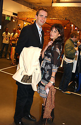FRITZ VON WESTENHOLTZ and CAROLINE SIEBER at a Topshop hosted Jumbo Thrift Sale - a sale of designer fashion, in association with the Terence Higgins Trust for World Aids Day, held at Topshop, Oxford Circus, London on 1st December 2004.<br />