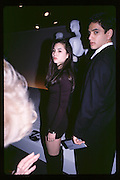 China Chow and Isaac Joseph, Tina Chow collection, Fashion Institute, 7 Ave, New York 16.03.92© Copyright Photograph by Dafydd Jones 66 Stockwell Park Rd. London SW9 0DA Tel 020 7733 0108 www.dafjones.com
