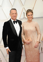 Tom Hanks and Rita Wilson at the 92nd Academy Awards held at the Dolby Theatre in Hollywood, USA on February 9, 2020.