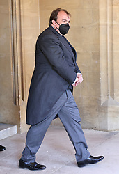 Prince Philipp, of Hohenlohe-Langenburg ahead of the funeral of the Duke of Edinburgh at Windsor Castle, Berkshire. Picture date: Saturday April 17, 2021.