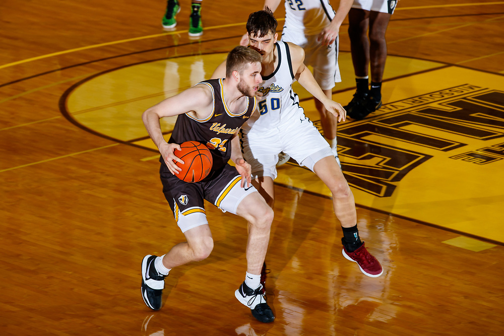 Valparaiso University men's basketball against Judson at the Athletics and Recreation Center in Valparaiso, Ind., Sunday, December 6, 2020. Photo by Guy Rhodes