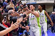 Marco Spissu<br /> Banco di Sardegna Dinamo Sassari - Pinar Karsiyaka<br /> Fiba Europe Cup 2018-2019 Quarti di Finale<br /> Sassari, 27/03/2019<br /> Foto L.Canu / Ciamillo-Castoria