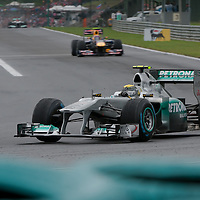 Mercedes Formula One driver Nico Rosberg of Germany drives his car during Hungarian F1 Grand Prix in Mogyorod (about 20km north-east from Budapest), Hungary. Sunday, 31. July 2011. ATTILA VOLGYI
