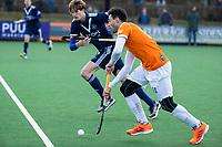 BLOEMENDAAL -  Glenn Schuurman (Bldaal) ,   .oefenwedstrijd hockey heren, Bloemendaal H1- Pinoke H1 (3-2).  COPYRIGHT KOEN SUYK