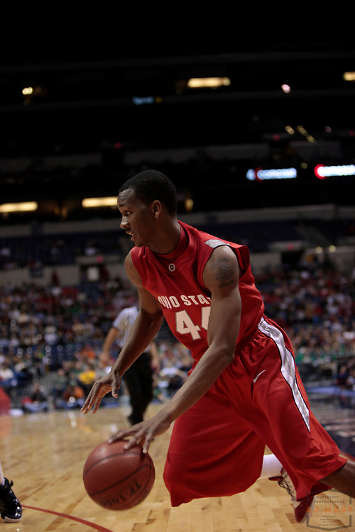 06 December 2008: Ohio State guard William Buford (44) as the Ohio State Buckeyes played the Notre Dame Fighting Irish  in the The Hartford Hall of Fame Showcase college basketball game in Indianapolis, Ind.