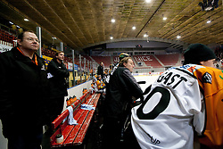 Graz during ice hockey match between HK Acroni Jesenice and  Moser Medical Graz 99ers in 24th Round of EBEL league, on December 3, 2010 in Arena Podmezakla, Jesenice, Slovenia. Graz defeated Jesenice 3-0.  (Photo By Vid Ponikvar / Sportida.com)