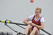 Eton, United Kingdom  GBR LW1X.Katherine COPELAND, at the start of his heat of the women's lightweight single sculls at the 2012 GB Rowing Senior Trials, Dorney Lake. Nr Windsor, Berks.  Saturday  10/03/2012  [Mandatory Credit; Peter Spurrier/Intersport-images]