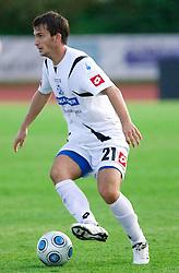Ivan Sesar of Koper at the football match Interblock vs NK Luka Koper in 12th Round of Prva liga 2009 - 2010,  on October 03, 2009, in ZSD Ljubljana, Ljubljana, Slovenia. Luka Koper won 1:0.  (Photo by Vid Ponikvar / Sportida)