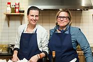 Chefs Jody Williams and Rita Sodi