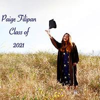 Paige Filipan HS Grad 2021