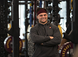 March 27, 2019 - Minneapolis, MN, USA - The Minnesota Gophers are held their annual ''Pro Day,'' where departing players work out for NFL scouts. Blake Cashman had a very good trip to the NFL Combine last month... ]..brian.peterson@startribune.com..Minneapolis,  MN ..Wednesday, March 27, 2019 (Credit Image: © Brian Peterson/Minneapolis Star Tribune via ZUMA Wire)