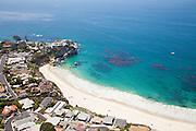 Aerial Stock Photo of Mussel Cove in Laguna Beach California